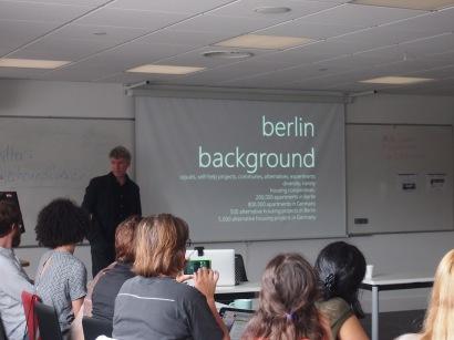 Michael La Fond prents on Berlin