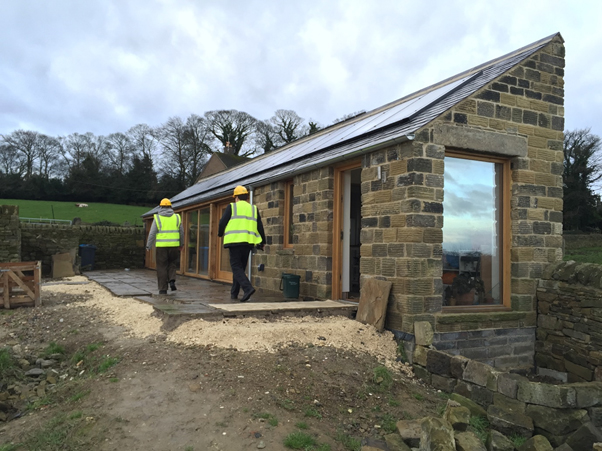 Open Door Cohousing – The first house!